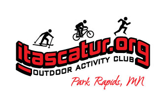 Itascatur.org logo~ Ski, bike and run club in Park Rapids, MN