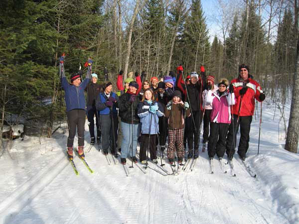 Soaring Eagle Kinship Ski Day
